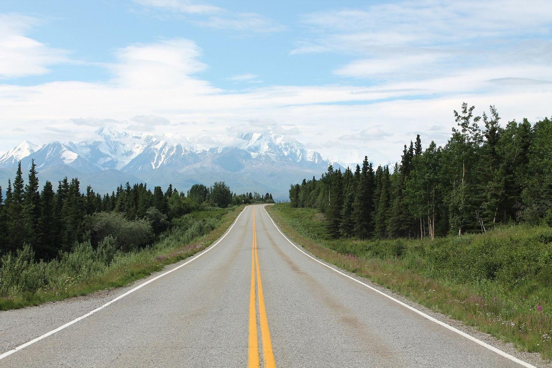 Aljaška: Po Richardson Highway z Fairbanks do Glennallen