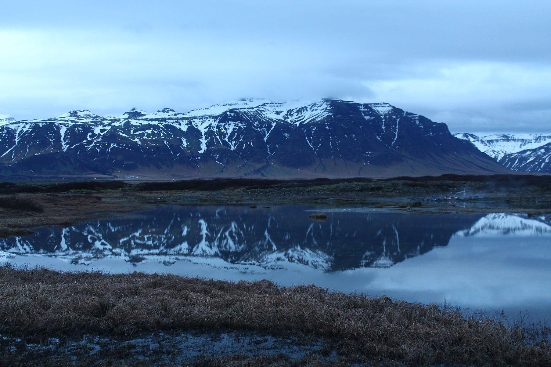 Island – polostrov Snaefellsnes