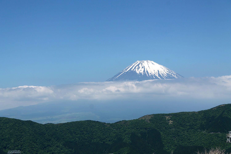 Japonsko – Hakone – výlet za horou Fudži