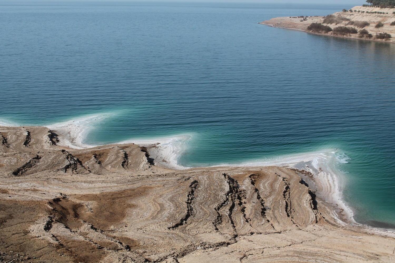 Jordánsko: pozdĺž pobrežia Mŕtveho mora