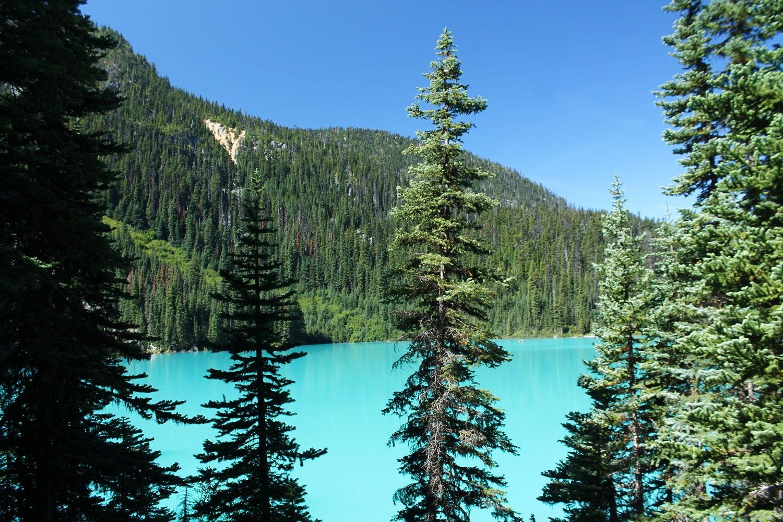 Joffre Lakes – najkrajšie kanadské jazerá