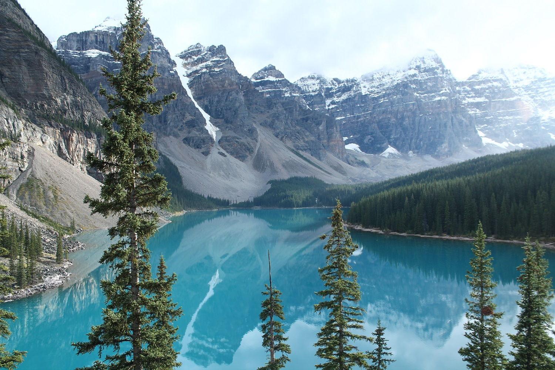Rocky Mountains - to najkrajšie z Kanady
