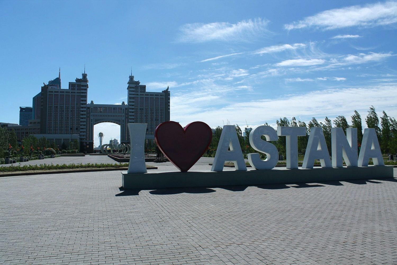 Astana - naše prvé kroky do Strednej Ázie
