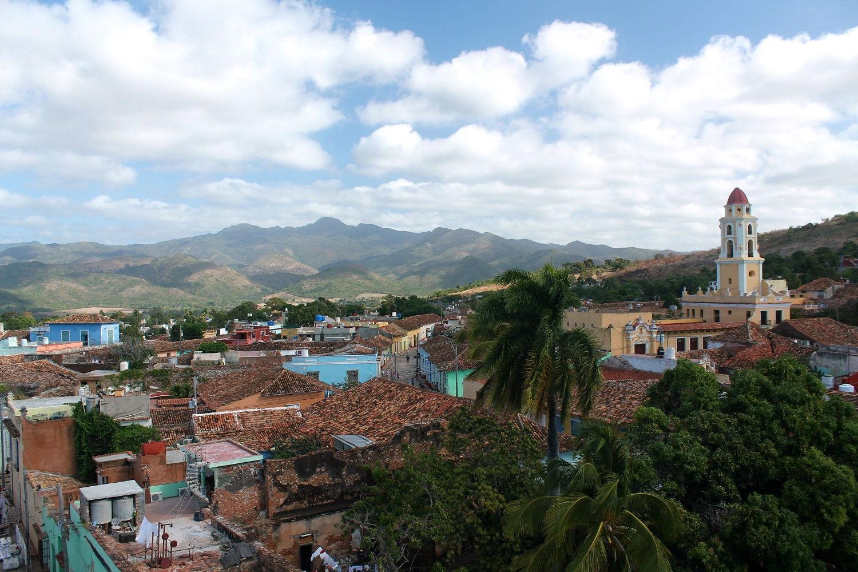 Farebný kubánsky Trinidad
