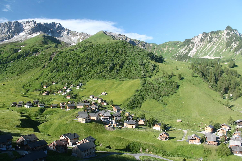 Lichtenštajnsko: Turistika v okolí Malbunu