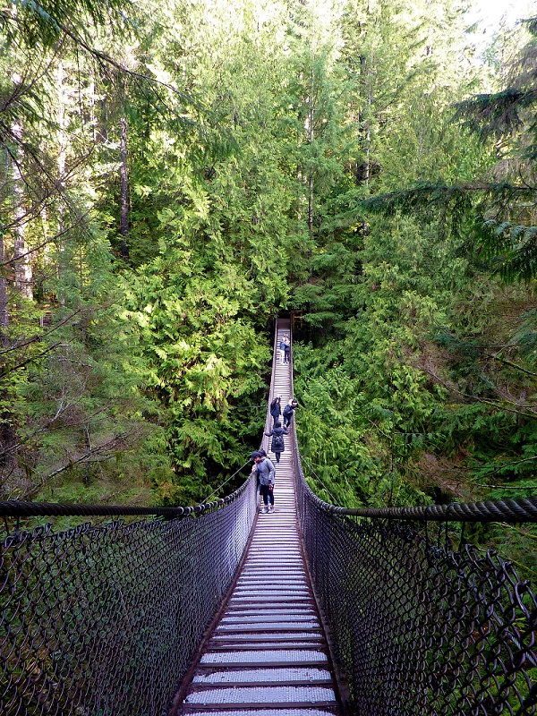 Visutý most Lynn Canyon Bridge